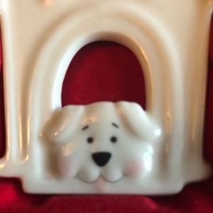Lenox Holiday - Lenox ornament I Love ❤️My Dog mint in box